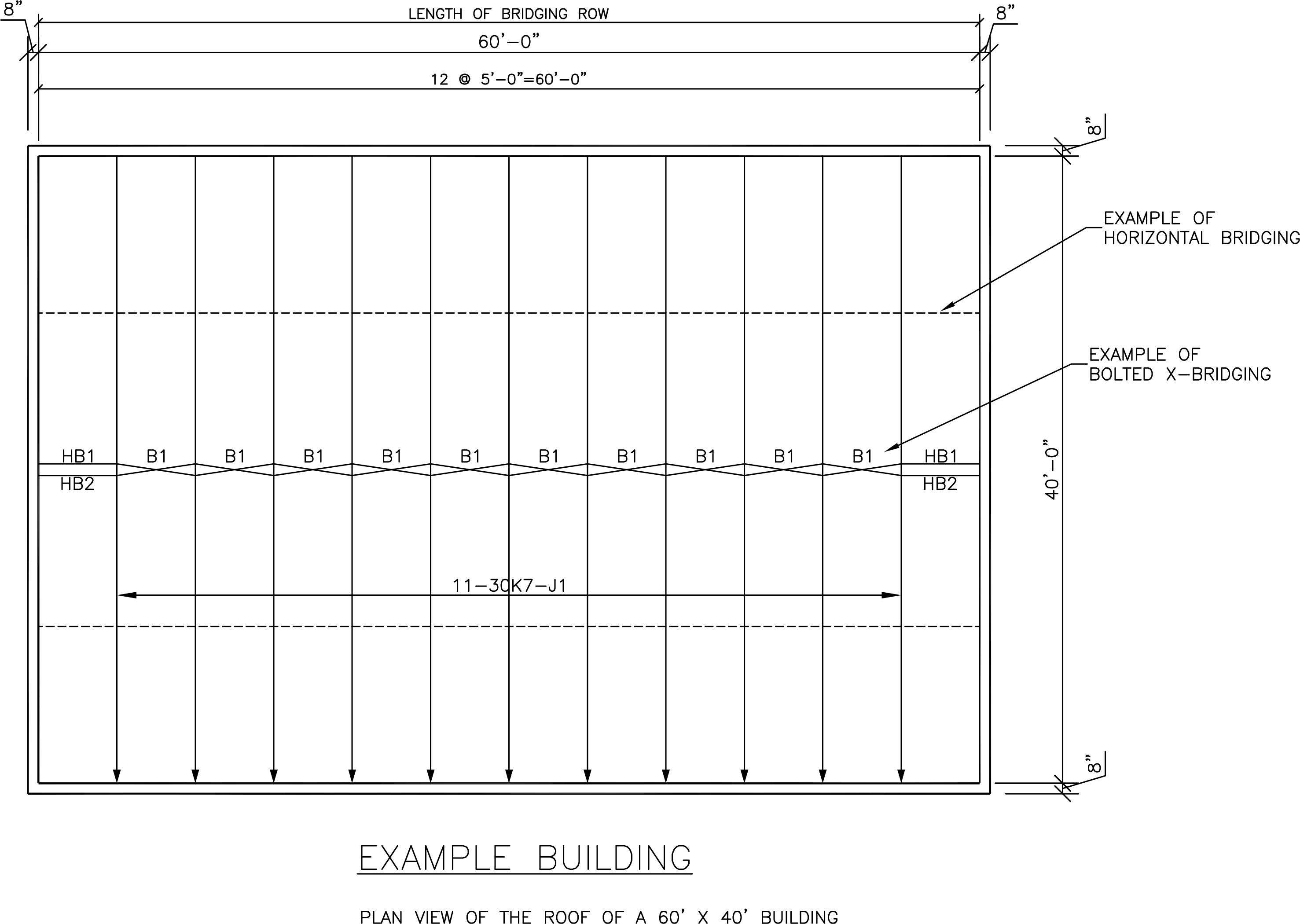 Joist bridging steel store for Wood floor joist bridging